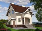 Одноэтажный дом с подвалом и мансардой